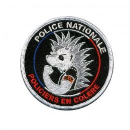 Ecusson brodé POLICIERS EN COLERE