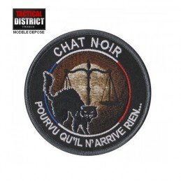 Ecusson CHAT NOIR