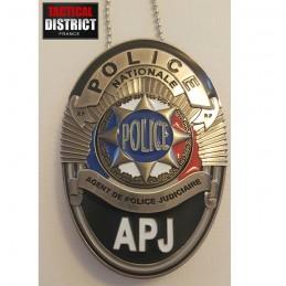 Plaque de ceinture POLICE -...