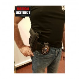 Plaque de ceinture POLICE - APJ