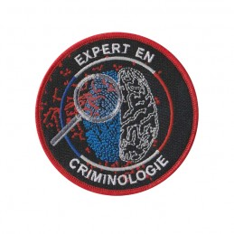 Ecusson Expert en Criminologie