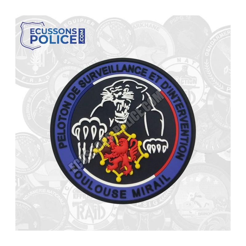 Ecusson PVC Gendarmerie PSIG Toulouse Mirail