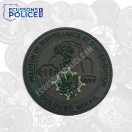 Ecusson PVC Gendarmerie PSIG Toulouse Mirail KAKI