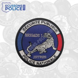 Ecusson Police CSP ISTRES