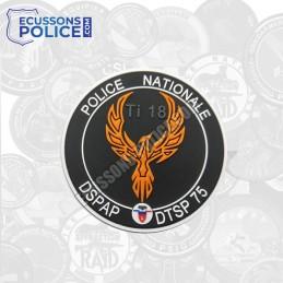 Ecusson Police TI 18