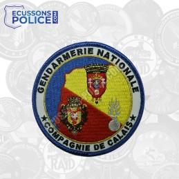 Ecusson Gendarmerie compagnie de Calais