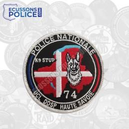 Ecusson Police k9 STUP 74