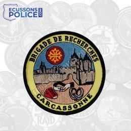 Ecusson Gendarmerie brigade de recherches Carcassonne