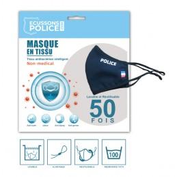 Masque en tissu Police