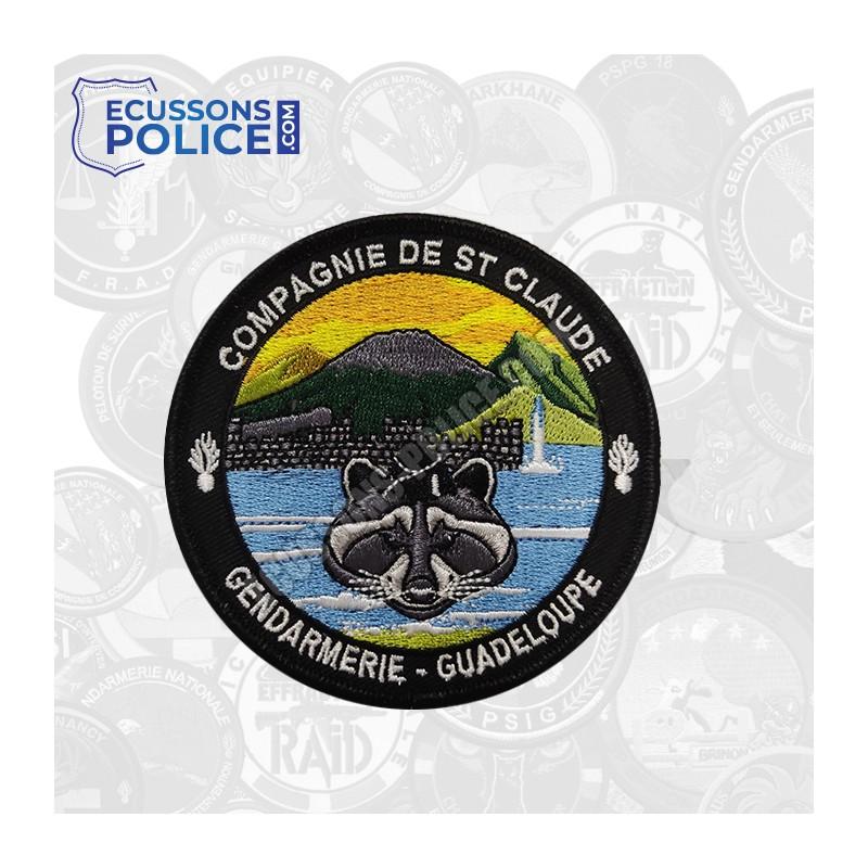 Ecusson brodé Gendarmerie Saint Claude