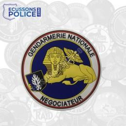Ecusson PVC Négociateur Gendarmerie