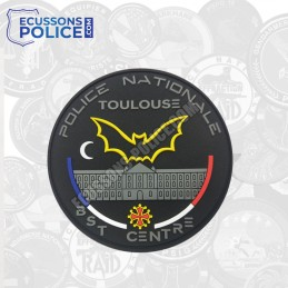 Ecusson PVC Police BST TOULOUSE phosphorescent