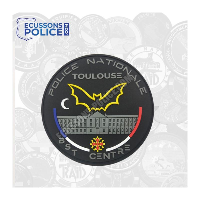 Ecusson PVC Police BST TOULOUSE phosphorescent