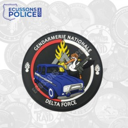 Ecusson PVC Gendarmerie DELTA FORCE