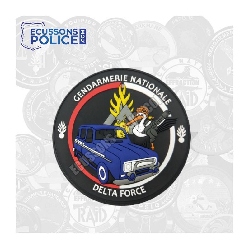 Ecusson PVC Gendarmerie DELTA FORCE