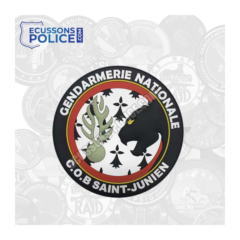 Ecusson PVC Gendarmerie COB SAINT-JUNIEN