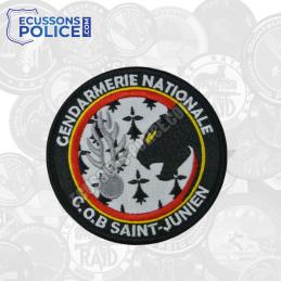 Ecusson brodé Gendarmerie COB SAINT-JUNIEN