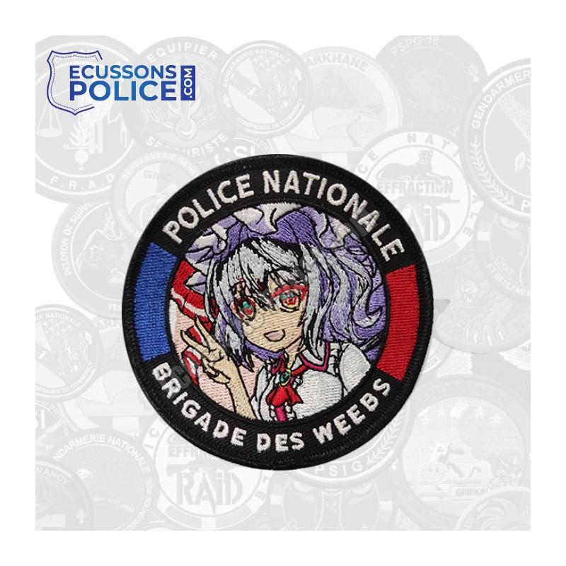 Ecusson Police Brigade des Weebs