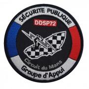 Ecusson Groupe d'Appui - Circuit du Mans