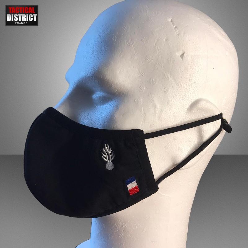 Masque en tissu gendarmerie