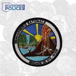 Ecusson brodé Gendarmerie - Brigade STE-ROSE
