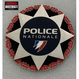 plaque de police nationale bac