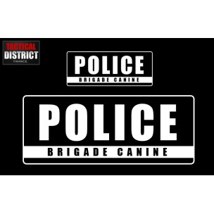 PVC - POLICE - BRIGADE CANINE- 3 Couleurs