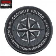 Ecusson Sécurité Privée - Protection et Intervention Basse Visibilité