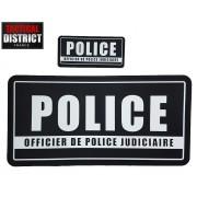 Bandes d'identification POLICE - Unité Judiciaire