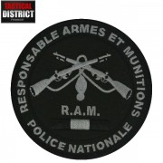 Ecusson RAM Responsable Armes et Munitions BV