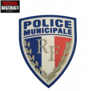 Ecusson PVC Police Municipale
