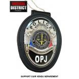 Plaque de ceinture POLICE - OPJ 2