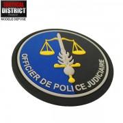 Ecusson PVC Gendarmerie OPJ Officier de Police Judiciaire