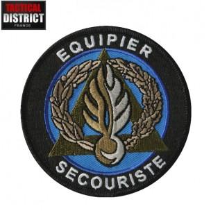 Ecusson Gendarmerie équipier secouriste