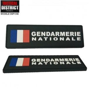 Bande d'identification PVC GENDARMERIE NATIONALE FRANCE
