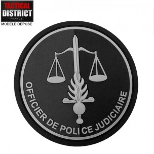 Ecusson Gendarmerie OPJ Officier de Police Judiciaire