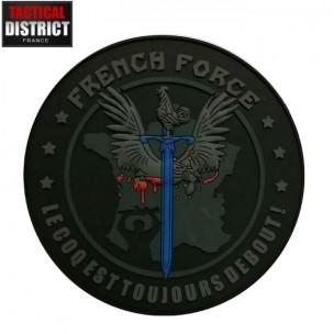 Ecusson PVC French Force Basse Visibilité