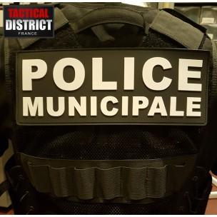 PVC - POLICE MUNICIPALE - 2 Couleurs