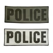 Bande velcro de Dos POLICE