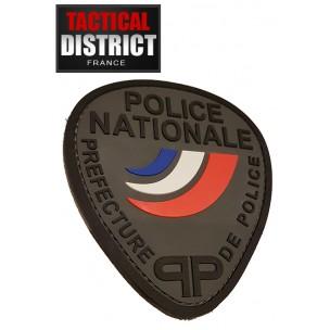 Ecusson PVC PP Préfecture de Police BV