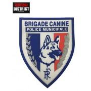 Ecusson PVC Brigade Canine - POLICE MUNICIPALE