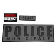 Bandes velcro Police Municipale BV