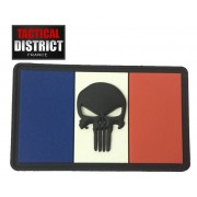 Ecusson PVC PUNISHER 5x3cm