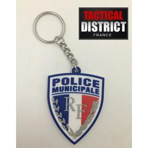 Porte-Clés PVC - Police Municipale