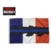 Drapeau French Blue Line