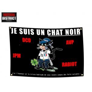 Drapeau Chat Noir