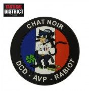 Ecusson PVC Chat Noir Police Nationale