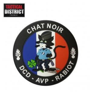 Ecusson PVC Chat Noir Gendarmerie